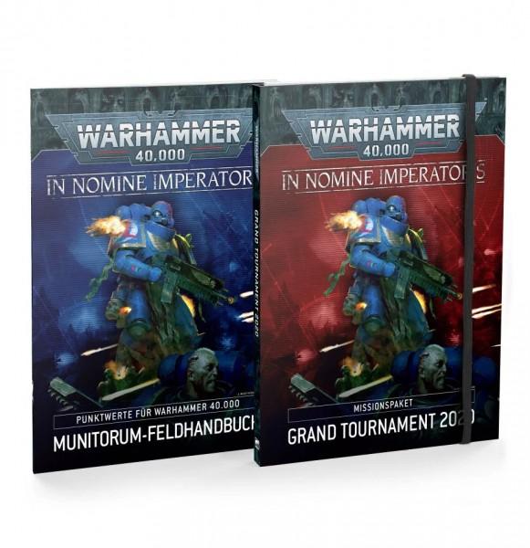 In Nomine Imperatoris: Missionspaket: Grand Tournament 2020 und Munitorum-Feldhandbuch (DE)