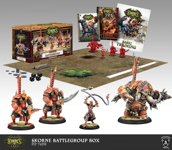Skorne Battlegroup Starter Box (plastic)