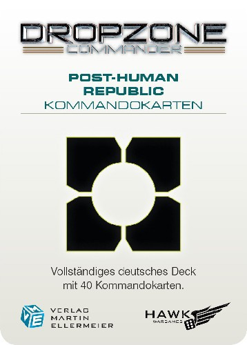 Post-Human Republic Kommandokarten (DE)