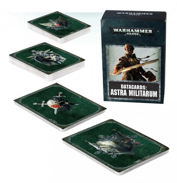 Datakarten: Astra Militarum (DE)