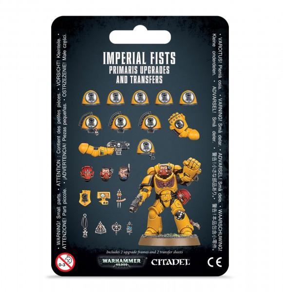 Upgrades und Abziehbilderbögen: Imperial Fists Primaris