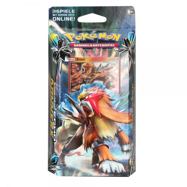 Pokemon Echo des Donners Entei Themendeck (DE)