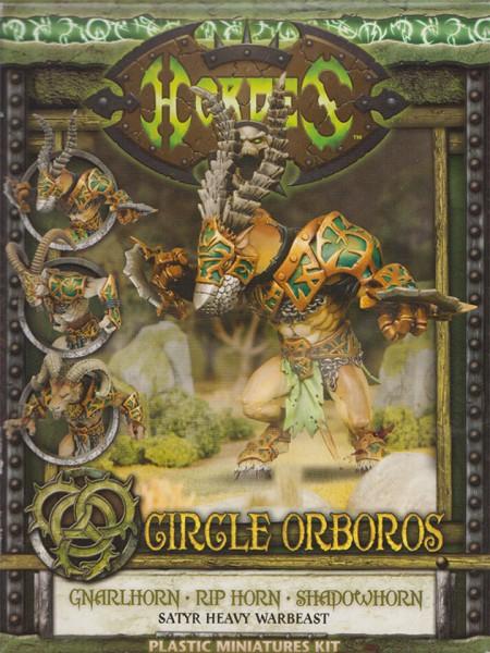 Circle Orboros Gnarlhorn/Rip Horn/Shadowhorn Box (plastic)