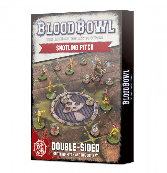 Blood Bowl Double-sided Snotling Pitch and Dugout Set (Englisch)
