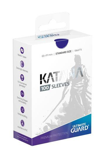 Ultimate Guard Katana Sleeves Standardgröße Blau (100)