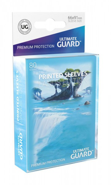 Ultimate Guard Printed Sleeves Standardgröße Lands Edition Insel