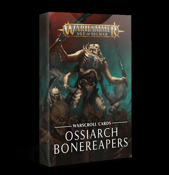 Schriftrollenkarten der Ossiarch Bonereapers (DE)
