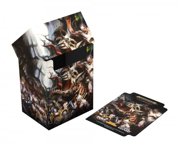 Warhammer Age of Sigmar: Champions Basic Deck Case 80+ Standardgröße Order vs. Death
