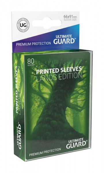 Ultimate Guard Printed Sleeves Standardgröße Lands Edition Wald