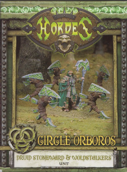 Circle Orboros Stoneward & Woldstalkers Unit Box