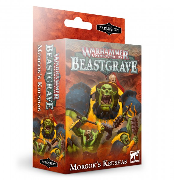 Warhammer Underworlds: Beastgrave – Morgoks Brechaz (DE)