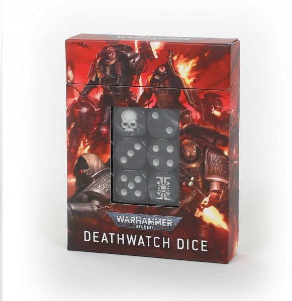 Würfelset der Deathwatch