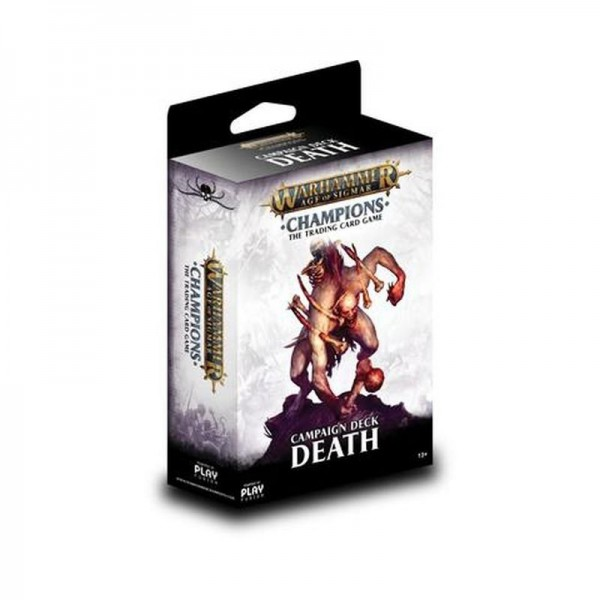 Warhammer Champions Welle 1 Kampagnendeck Tod (DE)