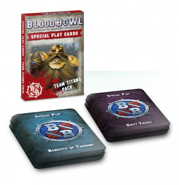 Blood-Bowl-Sonderkarten: Teamspiel-Paket(ENG)