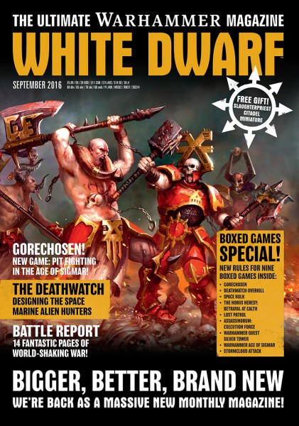 White Dwarf September 2016