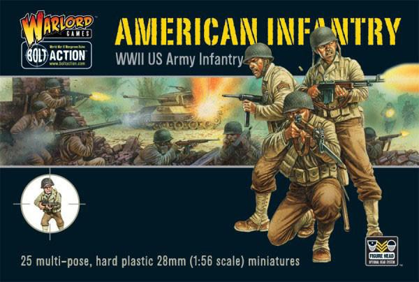American Infantry plastic boxed set