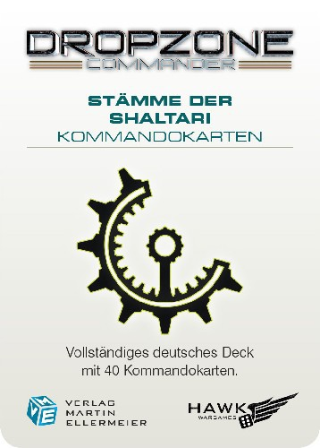 Shaltari Tribes Kommandokarten (DE)