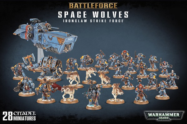 Battleforce: Space Wolves Ironclaw Strike Force