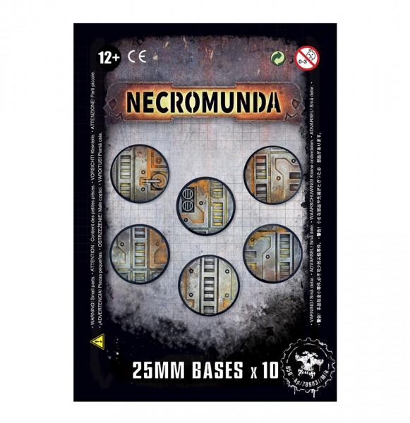 Necromunda-Bases (25 mm)