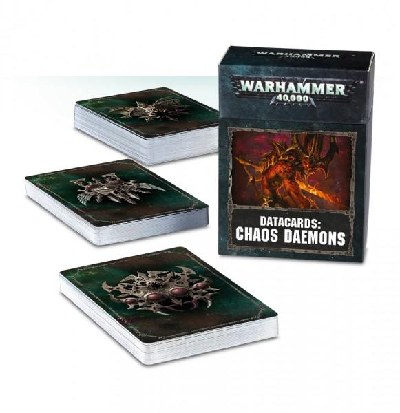 Datakarten: Chaos Daemons (DE)