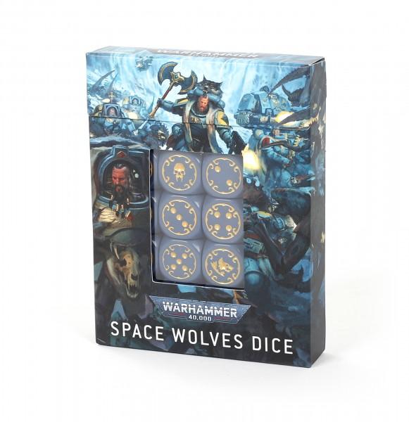 Würfelset der Space Wolves