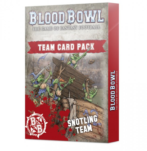 Blood Bowl Snotling Team Card Pack (Englisch)