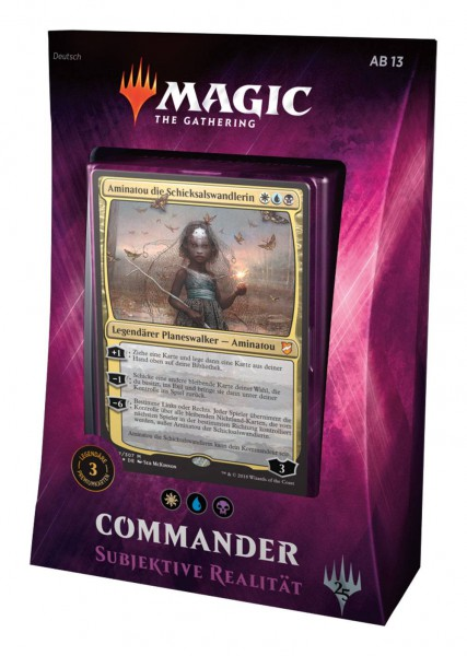 Magic the Gathering Commander 2018 Subjektive Realität (DE)
