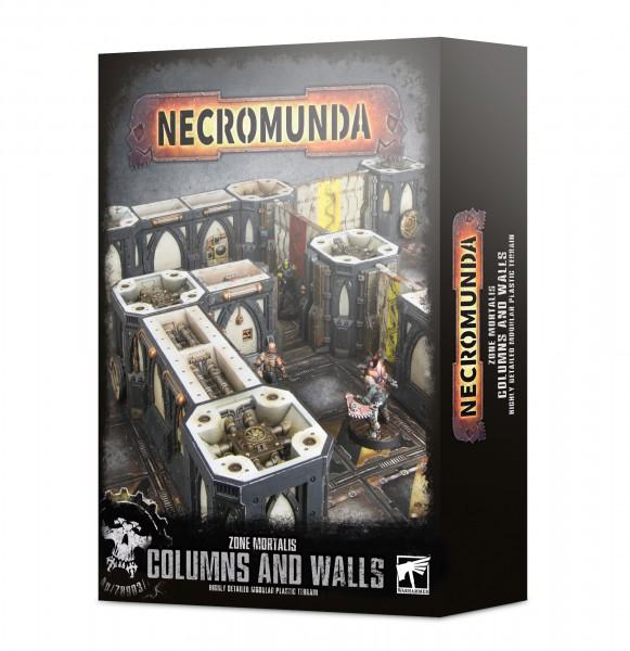 Necromunda: Säulen und Wände der Zone Mortalis