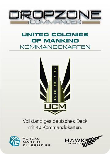 United Colonies of Mankind Kommandokarten (DE)