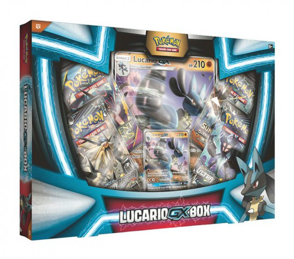 Pokemon Lucario-GX Box *Deutsche Version*