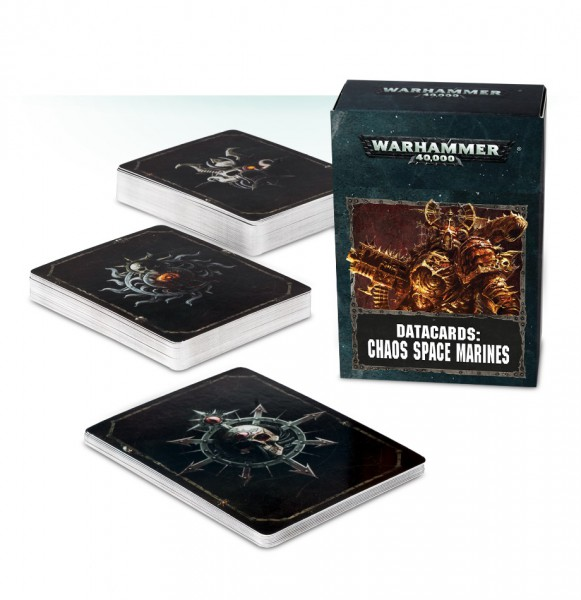 Datakarten: Chaos Space Marines (DE)