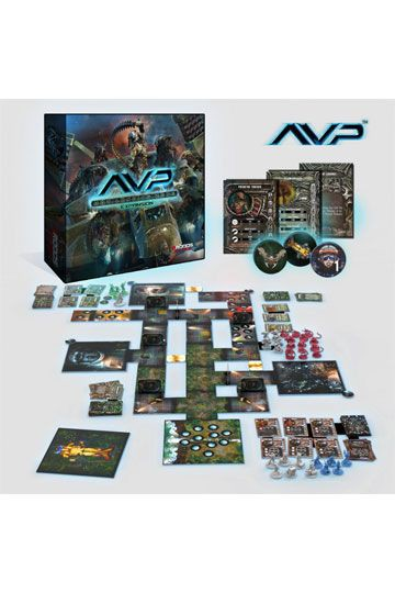 AvP Tabletop-Spiel The Hunt Begins Expansion Hot Landing Zone *Deutsche Version*