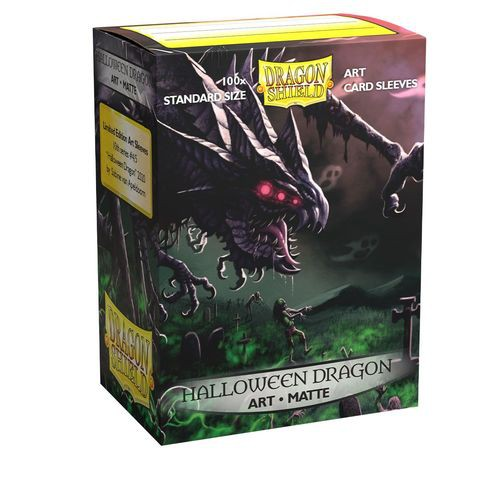 Art Sleeves Matte - Halloween Dragon 2020