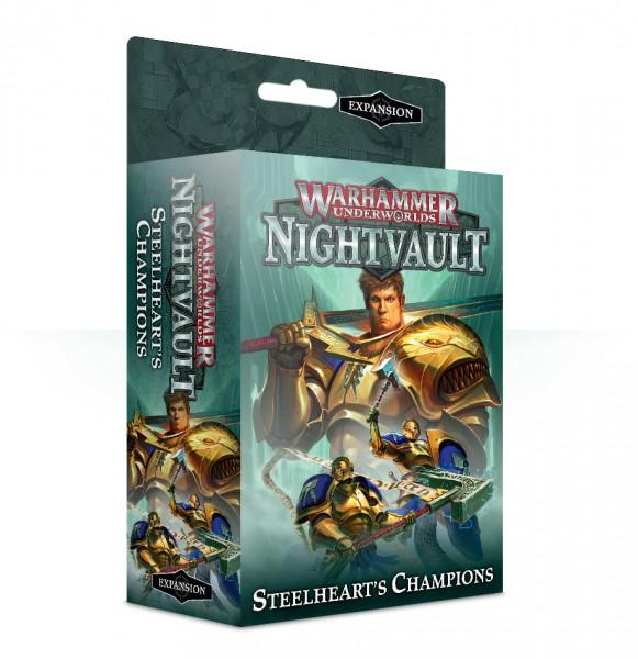 Warhammer Underworlds: Nightvault – Stahlherzens Champions (DE)