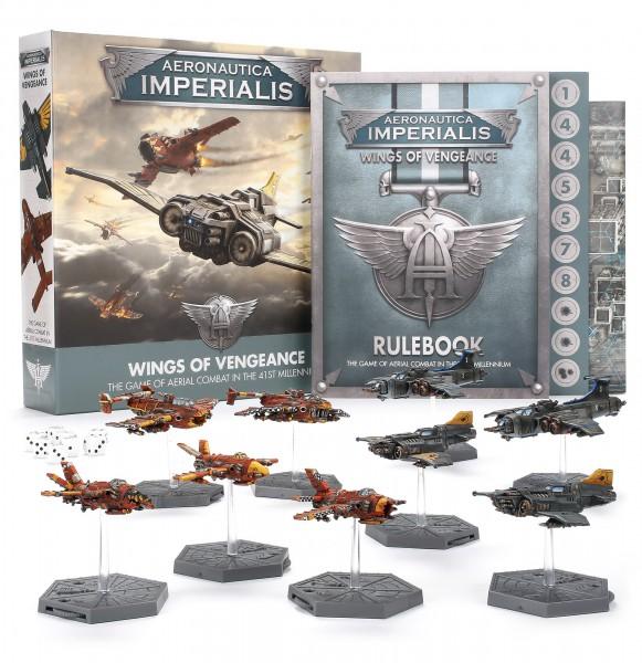 Aeronautica Imperialis: Wings of Vengeance (Englisch)