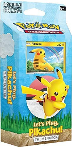 Let's Play Themendeck Pikachu (DE)