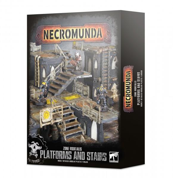 Necromunda: Plattformen und Treppen der Zone Mortalis