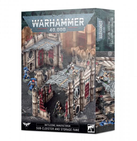 Battlezone: Manufactorum – Subkloster und Tempelspeicher