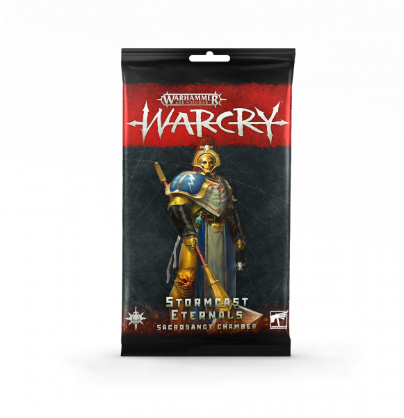 Warcry: Kartenset der Kriegerkammer der Stormcast Eternals