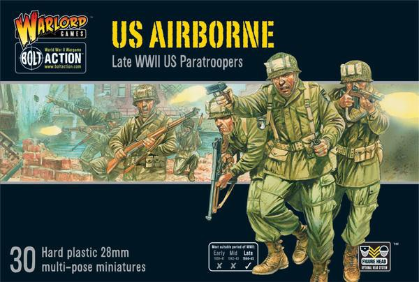 US Airborne plastic boxed set