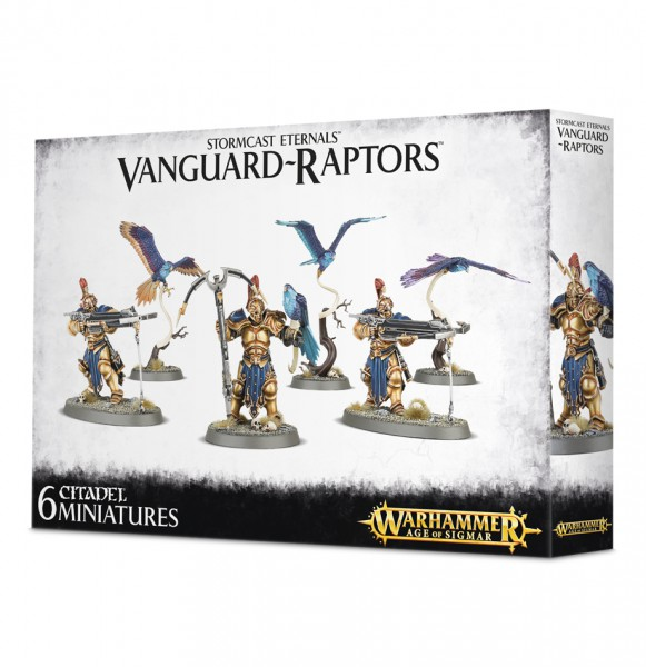 Vanguard-Raptors mit Hurricane Crossbows & Aetherwings