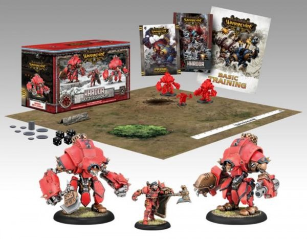 Khador Battlegroup Starter Box (plastic)