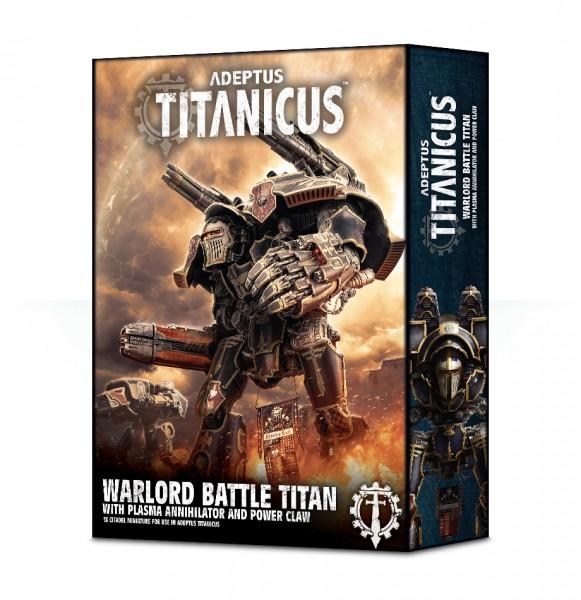 Adeptus Titanicus Warlord Battle Titan mit Plasma-Annihilator und Energieklaue
