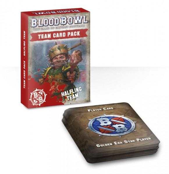 Team Card Pack: Halfling Team (Englisch)