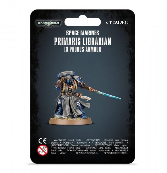 Primaris Librarian in Phobos-Rüstung