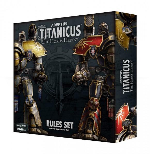 Adeptus Titanicus: The Horus Heresy Regeln (DE)