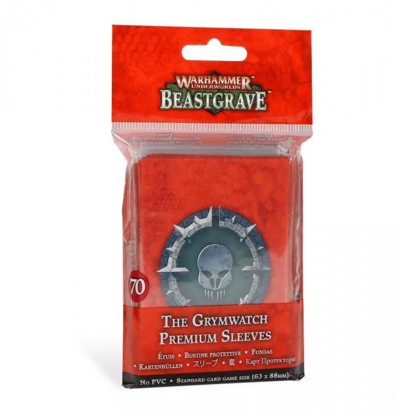 Warhammer Underworlds: Beastgrave – Premium-Kartenhüllen für die Grimwacht