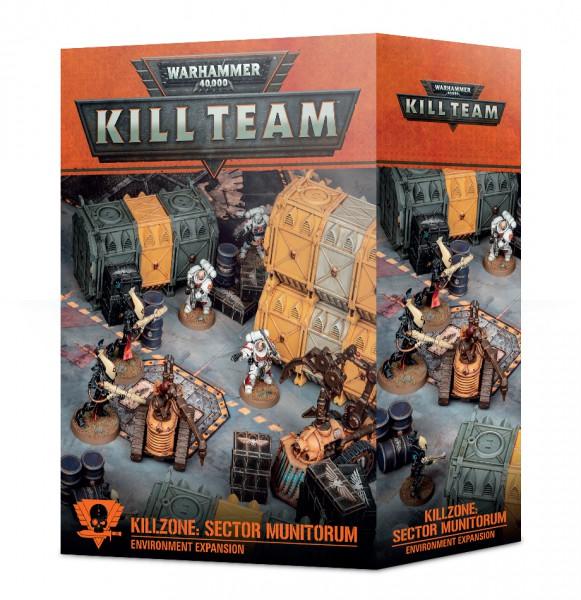 Kill Team Killzone: Sector Munitorum Environment Expansion (DE)