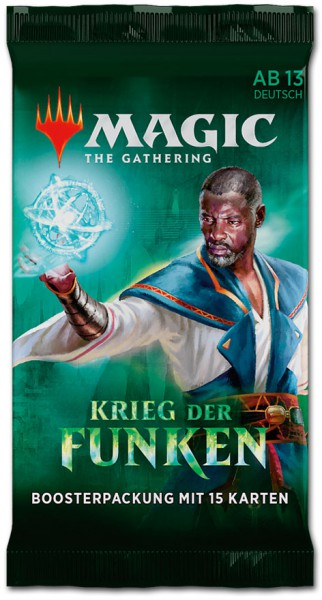 Magic the Gathering: Krieg der Funken Booster (DE)