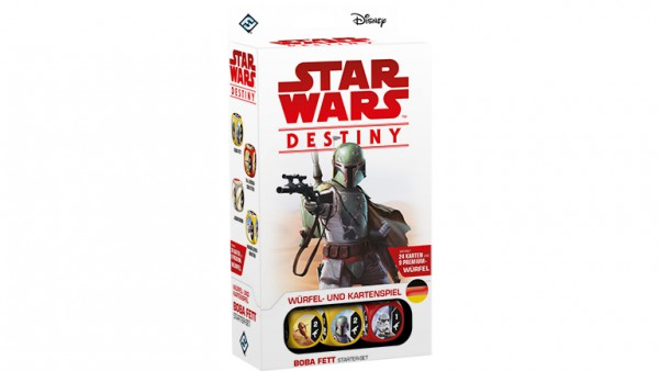 Star Wars: Destiny – Boba Fett Starter-Set (DE)